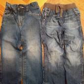 Одним лотом две пары джинс 2-3 года