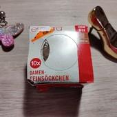 Германия!!! Женские капроновые носки! В упаковке 10 шт! Беж! 20 Ден!