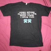 Мужская футболка размер ХЛ стопроцентный хлопок