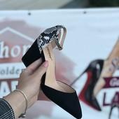 Шикарні туфлі. Квадратний каблук