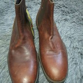 Мужские ботинки Челси на размер 45, кожа