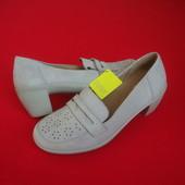 Туфли Hotter натур кожа 36-37 размер 23 .5 см
