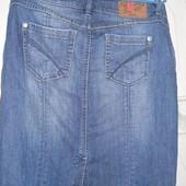 Джинсовая юбка Espirit размер 42 европейский,джинсовый р. 29