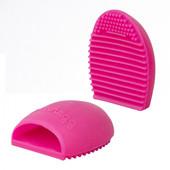 Силиконовая щетка для очистки косметических кистей Miss Claire BrushEgg