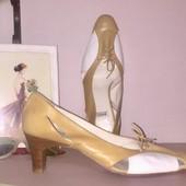 Туфли на среднем каблуке из высококачественной натуральной кожи бренд ballco испания