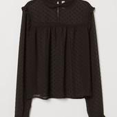 Шифоновая блузка H&M
