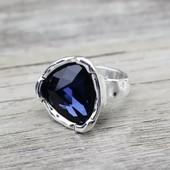 Винтажное большое женское кольцо. Размер 19