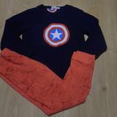 Пижама Marvel кофта-флис ,штаны-х\б,состояние очень хорошее