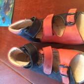 босоножки, сандали, ортопедические, кожа, размер 28. встелька 18 см, Richter. состояние отличное.