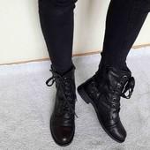 модні ботиночки depeche 40/26 cm,як нові