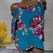 Вау! Обалденная блуза размер 46