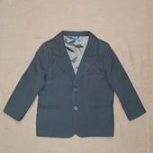 Стильный пиджак F&F на мальчика 2-3 года. В идеале! Укрпочта бесплатно!