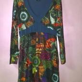 Яркое стильное дизайнерское платье Desigual