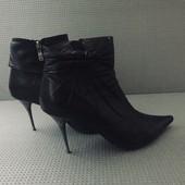Лёгкие ботинки из натуральной кожи / 37 размер