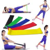 Резинки loop bands для фитнеса. набор- 5 шт