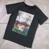 Стоп ! Динозавр)❤ Фирменная классная футболочка,7 лет❤ Много лотов!