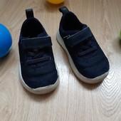 Кросівки на 13 см з тканини