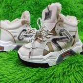 Супер-скидка! Зимние кроссовки-ботинки на меху