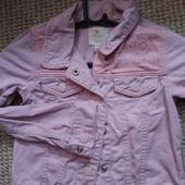 Джинсовая куртка 5-6 лет