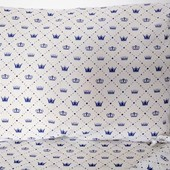 Милый, нежный Набор для детской кроватки (простыня + две наволочки)
