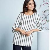 Esmara Германия Тончайшая блуза 100% вискоза 36р евро