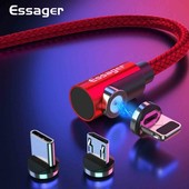Цена закупки!!! Магнитный кабель 360 градусов для Type-C, IPhone