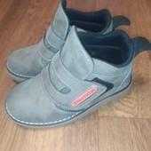 Демисезонные ботинки, состояние идеальное