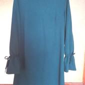 Гарне плаття смарагдового кольору,український виробник,р XL,відмінний стан