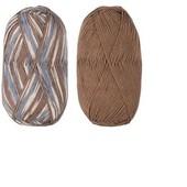 Набор пряжи для эластичных носков с жаккардовым градиентом Lorena 2 шт*100г(2*430м)Crelando Германия