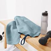☘ Швидковисихаюче полотенцe для спорту і подорожей від Tchibo (Німеччина), розмір: 100 х 50 см