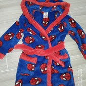 Плюшевый халат на 2-3года замеры на фото