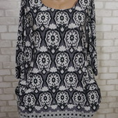 Платье-туника с карманами 50-52 в идеале
