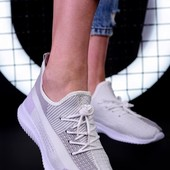 Стильные кроссовки, легкие, комфортные. Унисекс. На любую полноту.