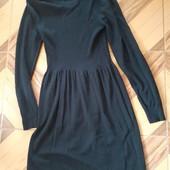 Плаття трикотажне довгий рукав.
