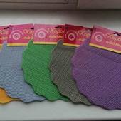 не пропустите!!!!резиновый коврик для раковины наборчик 4 шт+ 4 картинки 3Д +подарок