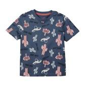 ✔ Хлопковая футболка для мальчика Lupilu Германия р.110/116 ✔