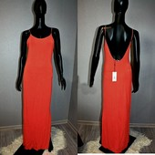 Качество! Стильное натуральное макси платье от американского бренда Papaya