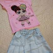 Модный лук на малышку 2-3 года