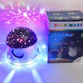 Ночник проектор звездного неба с Bluetooth star master