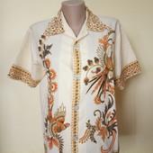 Літня блузка із жар птицями , стан хороший, 10% знижка на УП