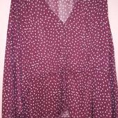 Шифоновая блуза большой размер 60-64 сост.сост.отл