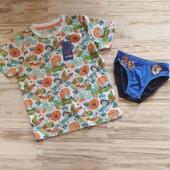 Шикарные фирменная футболка и трусы мальчику 4-6 лет. Сотни лотов.
