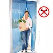 Дверная антимоскитная сетка на магнитах 100*210 см