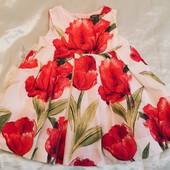Платье 3-6 мес, Яркое, нарядное;)