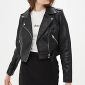 Крутая куртка косуха из эко-кожи Dorothy Perkins