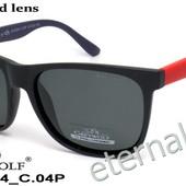 Поляризованные очки, форма классика рейбан, подходит всем! матовые яркие дужки