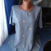 Симпатичная женская блузка, р.L(48-50)