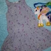 Обалденное платье,фирменное от Hasbro,на 6-8 лет