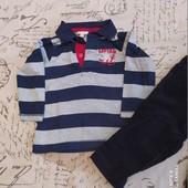 Набор одежды,брюки,футболки,бриджи на 1-3 года