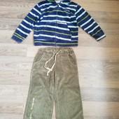Велюровые штаны и кофта